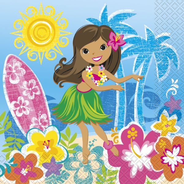 Hula Beach Party - Napkins (16pk)